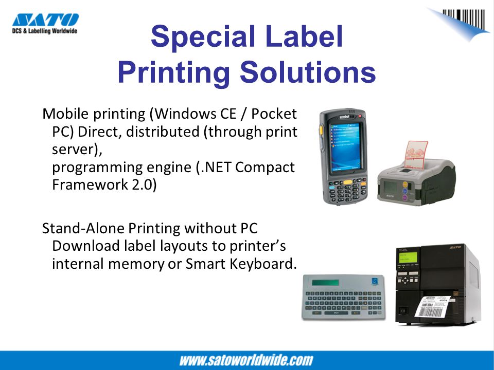 Special Label Printing Solutions