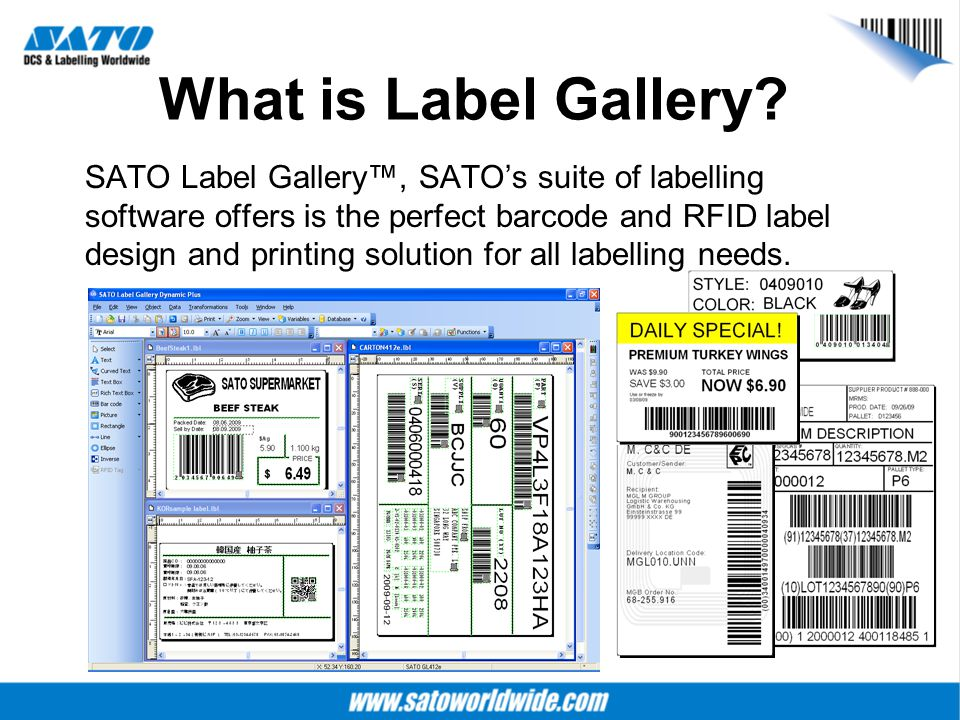 What is Label Gallery