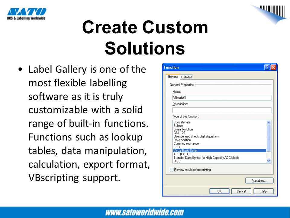 Create Custom Solutions