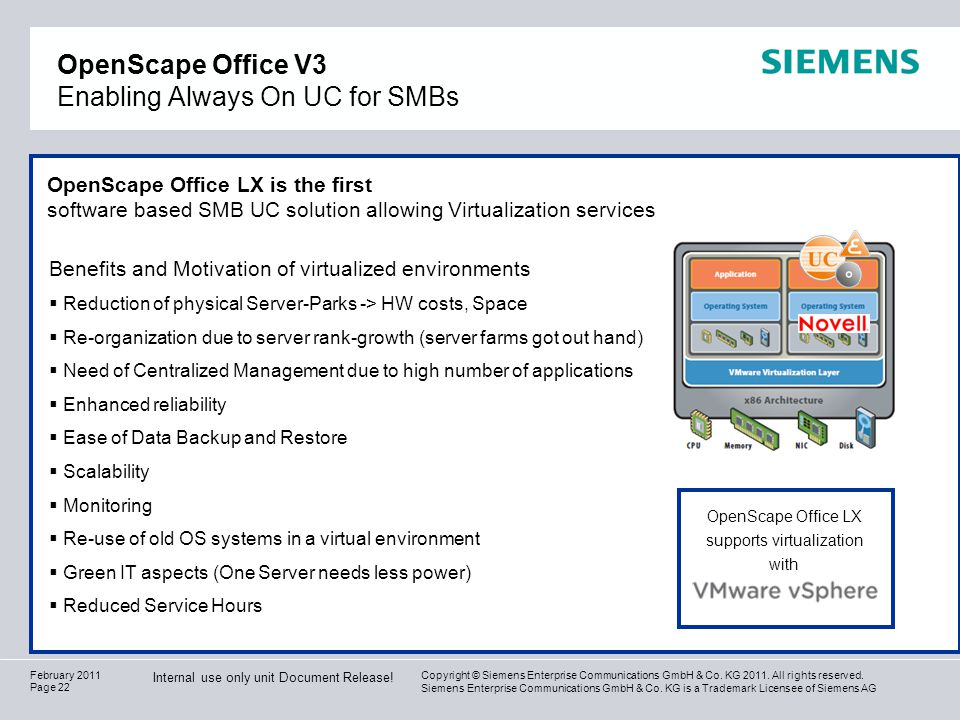 OpenScape Office V3 Enabling Always On UC for SMBs