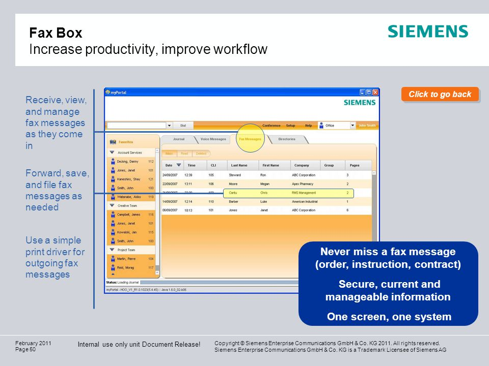 Fax Box Increase productivity, improve workflow