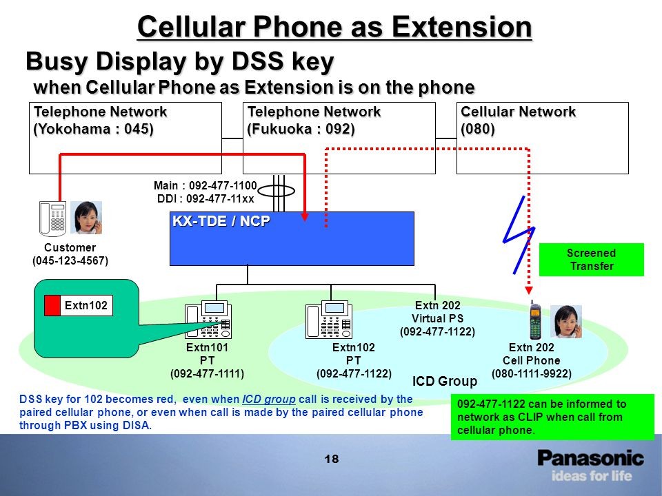 Cellular Phone as Extension