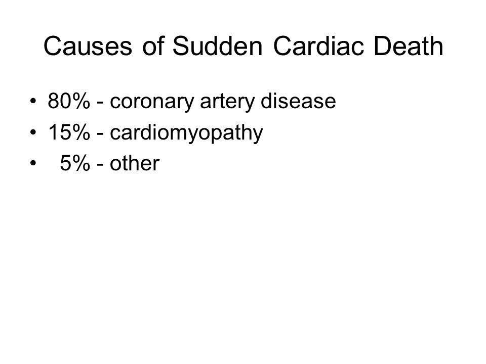 Causes of Sudden Cardiac Death