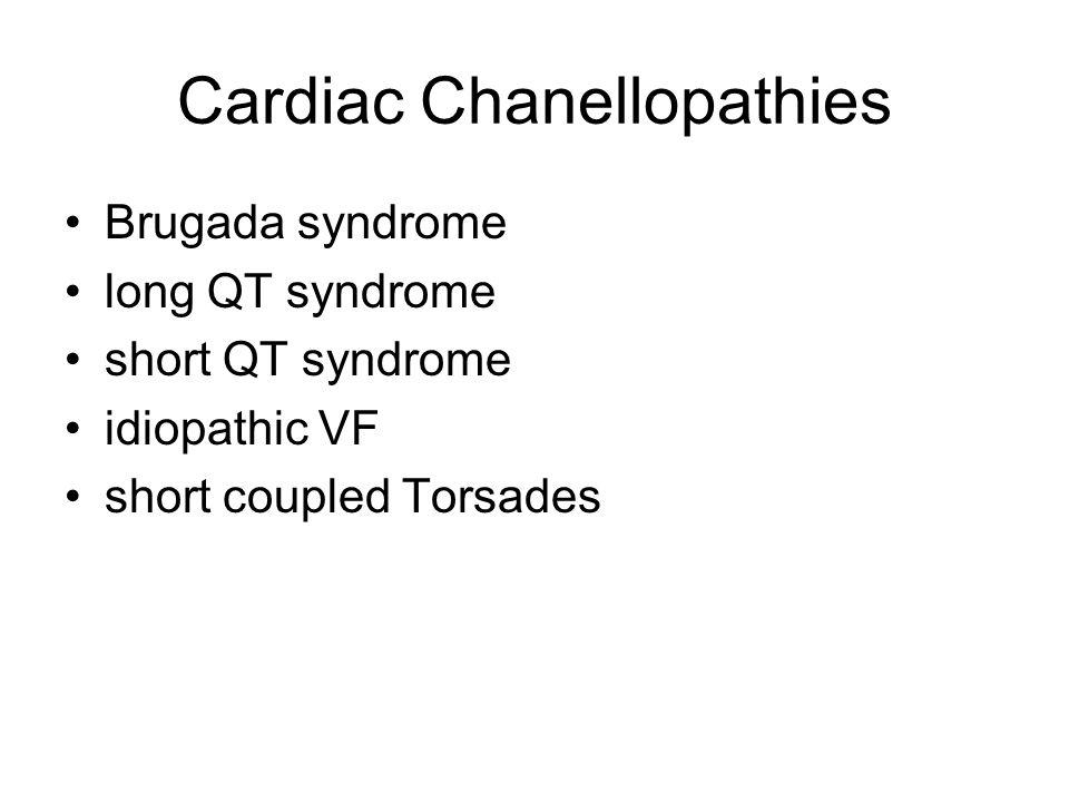 Cardiac Chanellopathies