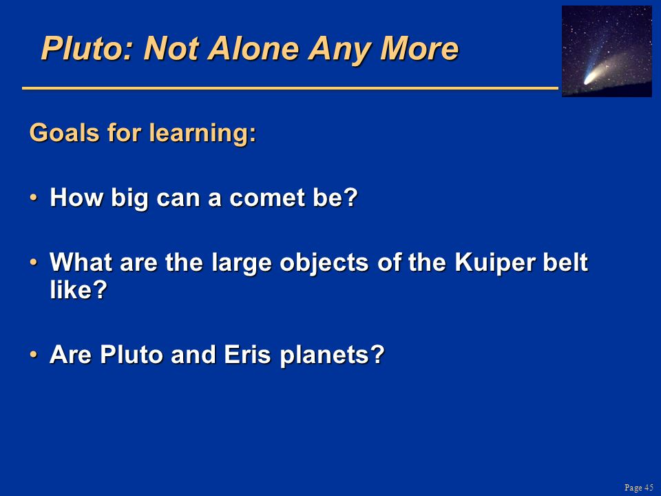 Pluto: Not Alone Any More