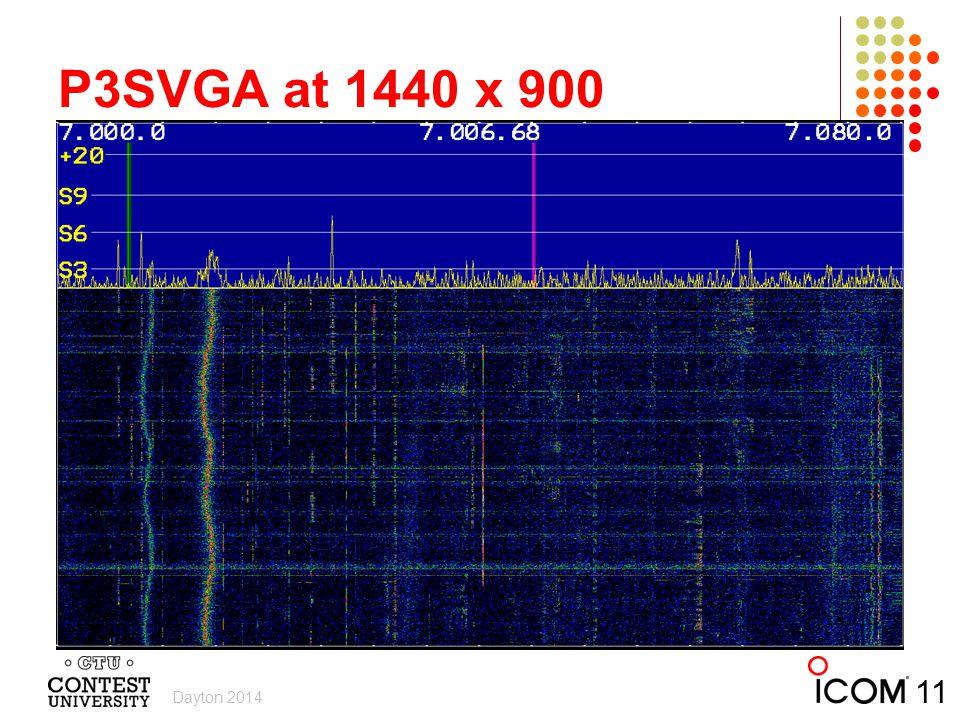 P3SVGA at 1440 x 900