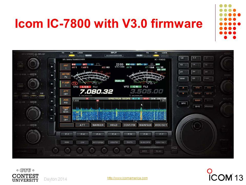 Icom IC-7800 with V3.0 firmware