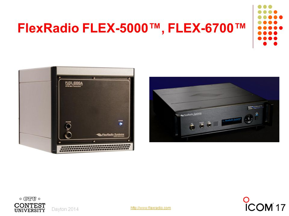 FlexRadio FLEX-5000™, FLEX-6700™
