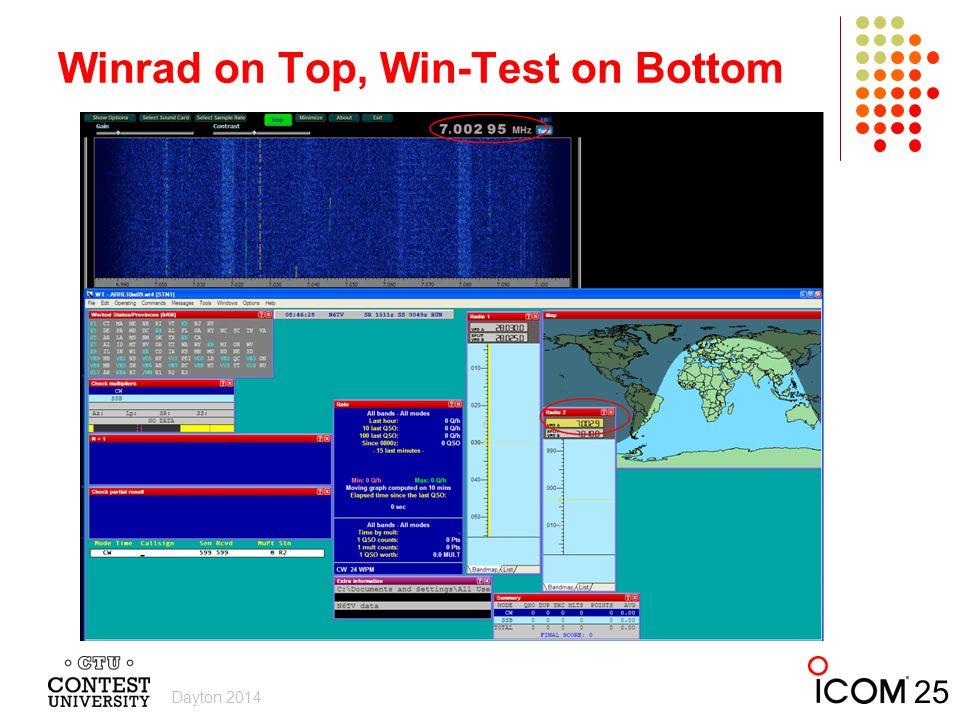 Winrad on Top, Win-Test on Bottom