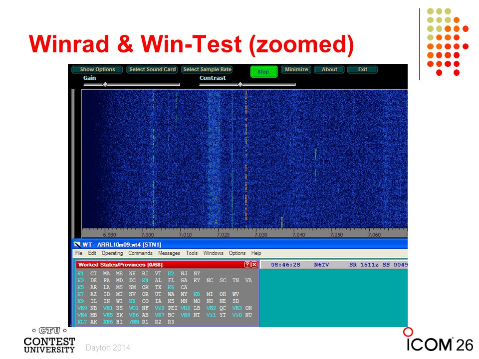 Winrad & Win-Test (zoomed)
