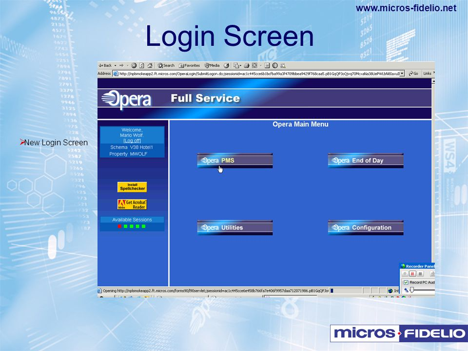Login Screen New Login Screen