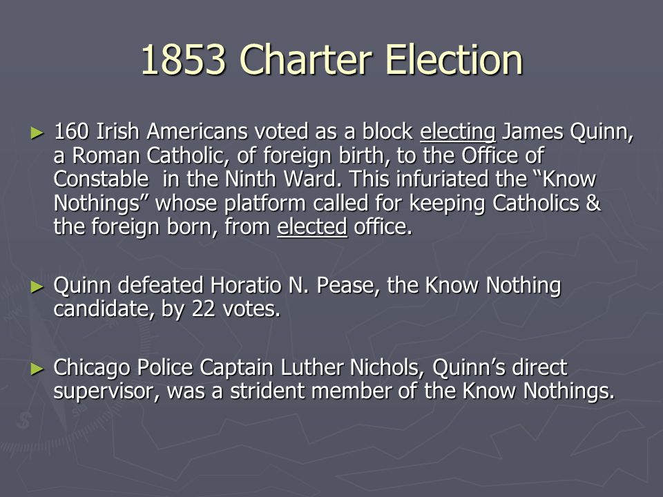 1853 Charter Election