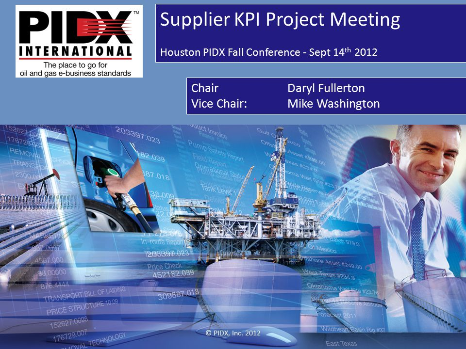 Supplier KPI Project Meeting