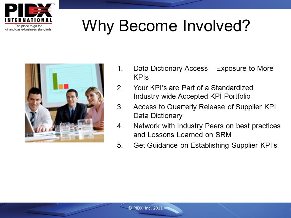 Why Become Involved Data Dictionary Access – Exposure to More KPIs