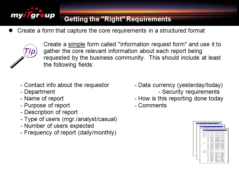 Getting the Right Requirements