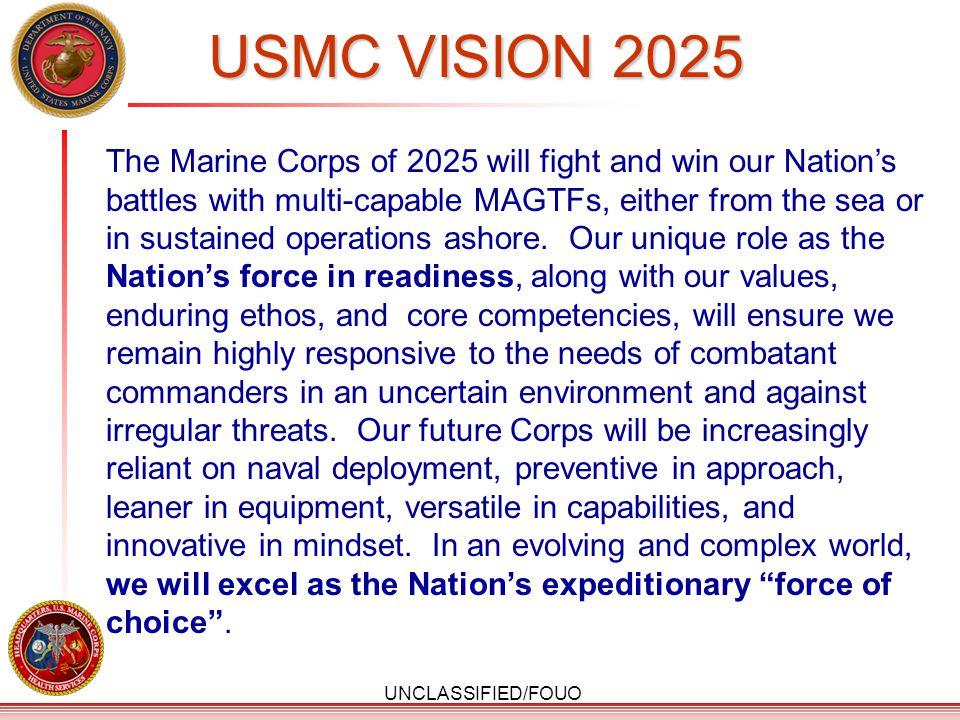USMC VISION 2025