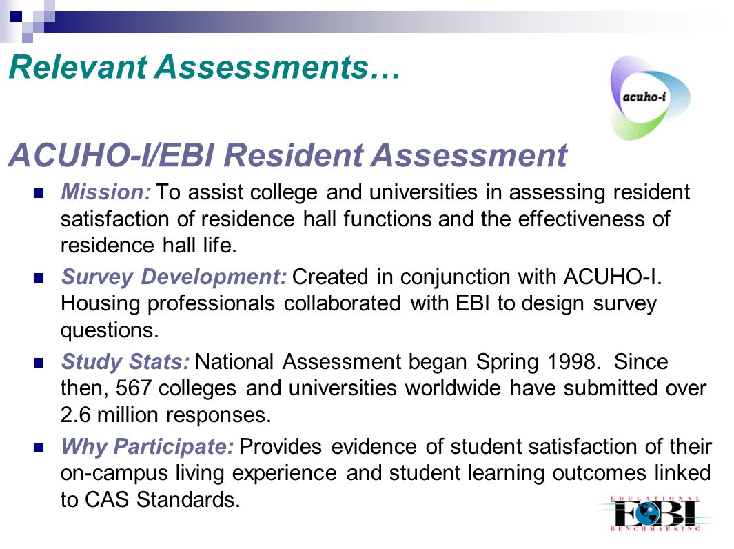 Relevant Assessments…