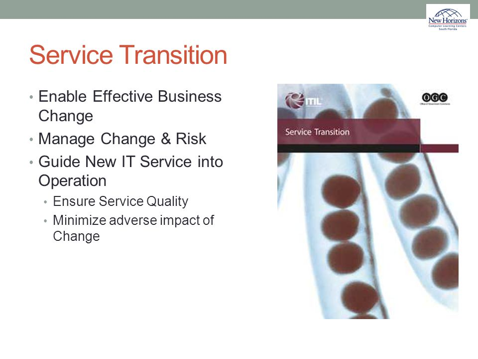 Service Transition Enable Effective Business Change