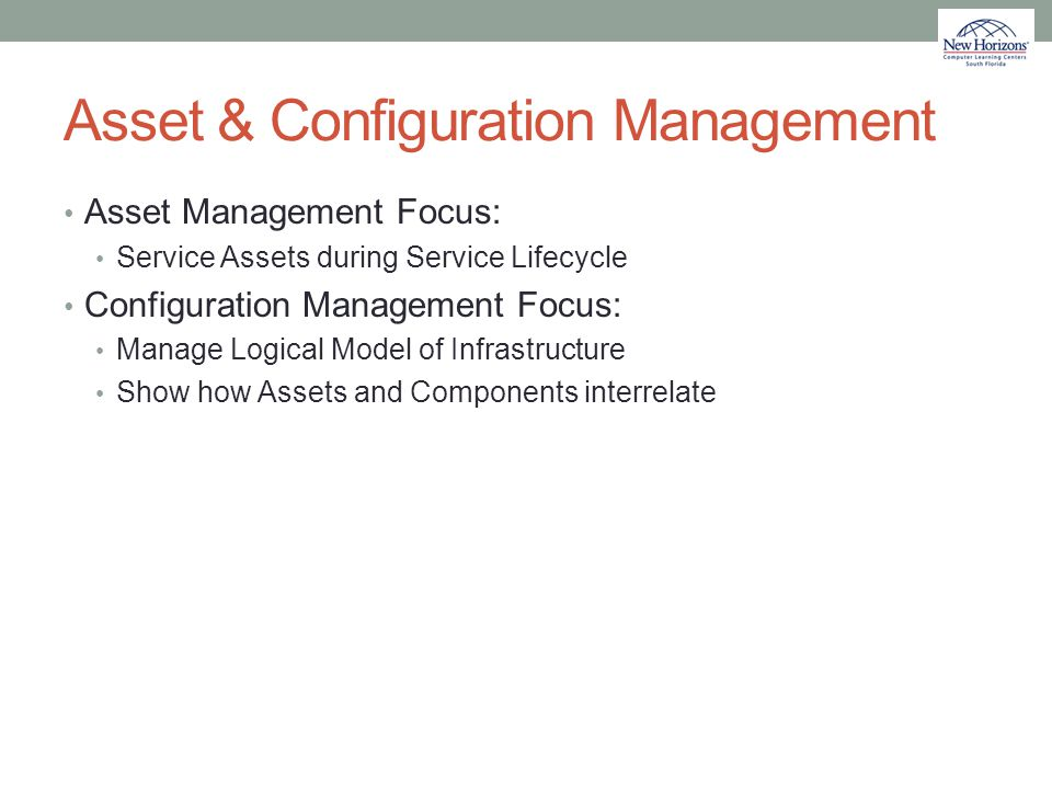 Asset & Configuration Management