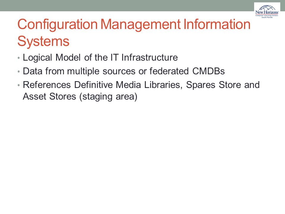 Configuration Management Information Systems