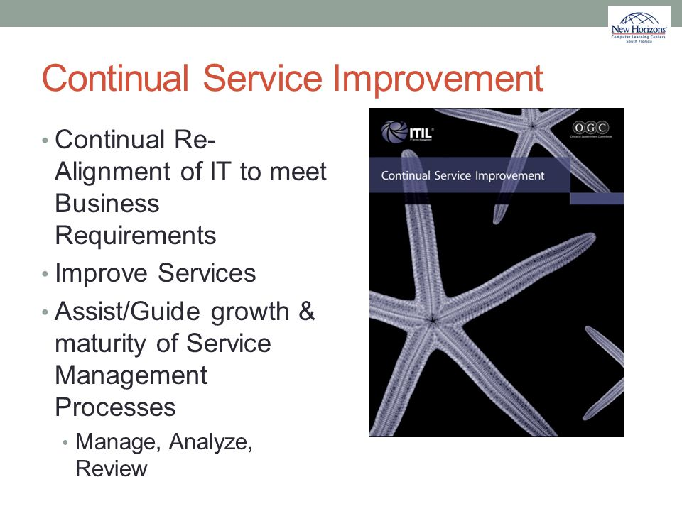 Continual Service Improvement