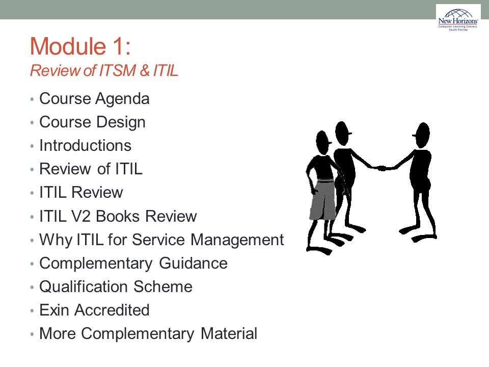Module 1: Review of ITSM & ITIL