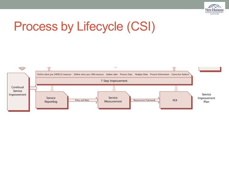 Process by Lifecycle (CSI)