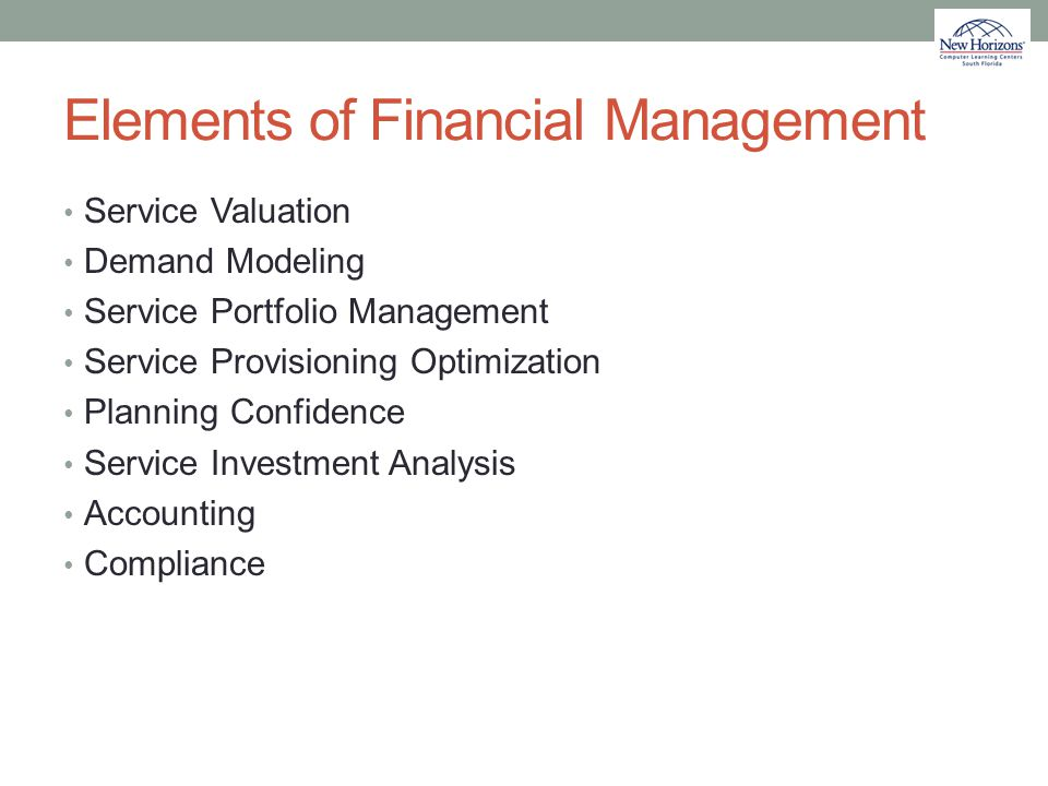 Elements of Financial Management