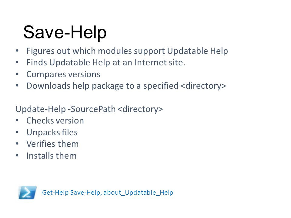 Save-Help Figures out which modules support Updatable Help