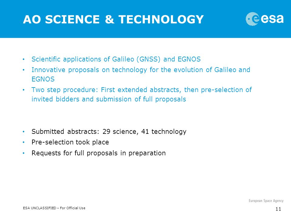AO SCIENCE & TECHNOLOGY
