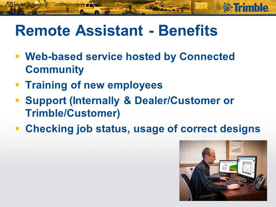 Remote Assistant - Benefits