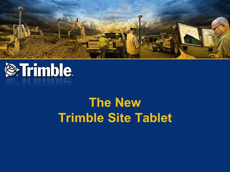 The New Trimble Site Tablet