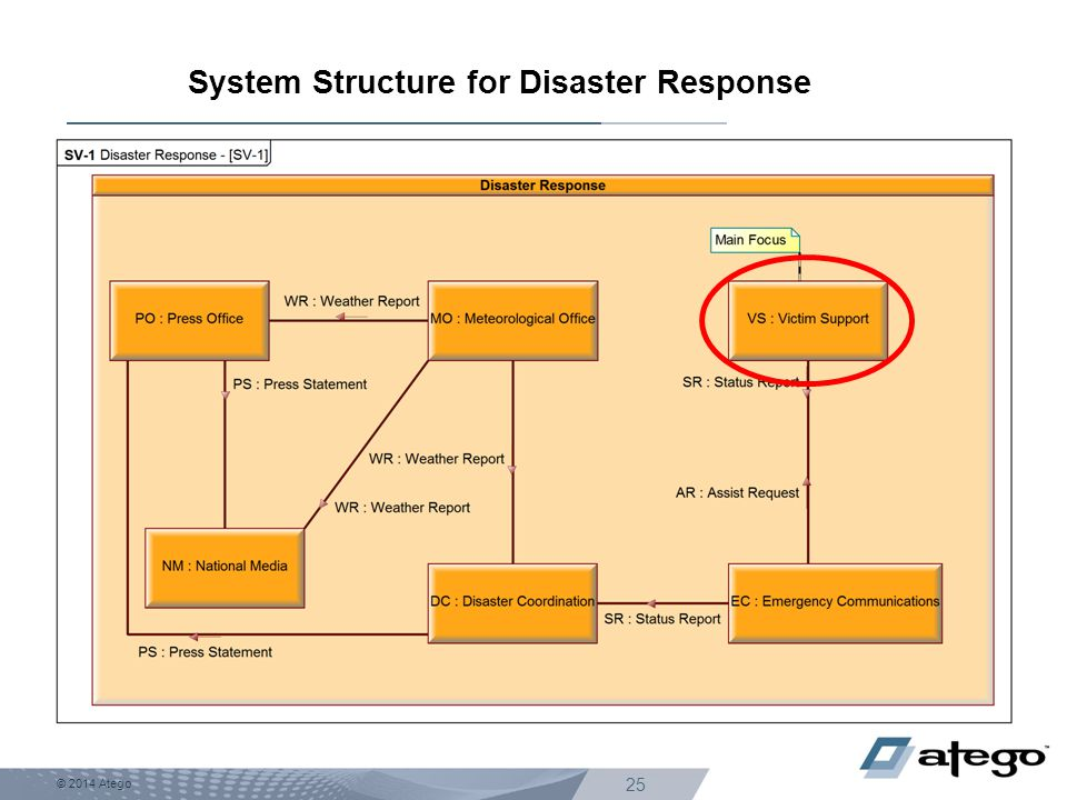System Structure for Disaster Response