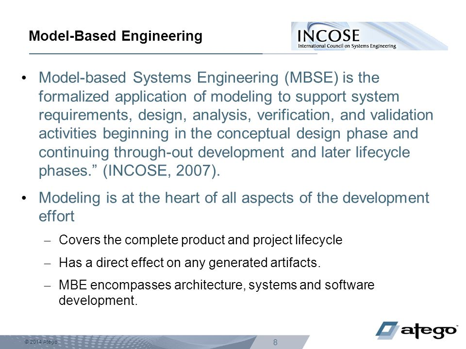 Model-Based Engineering
