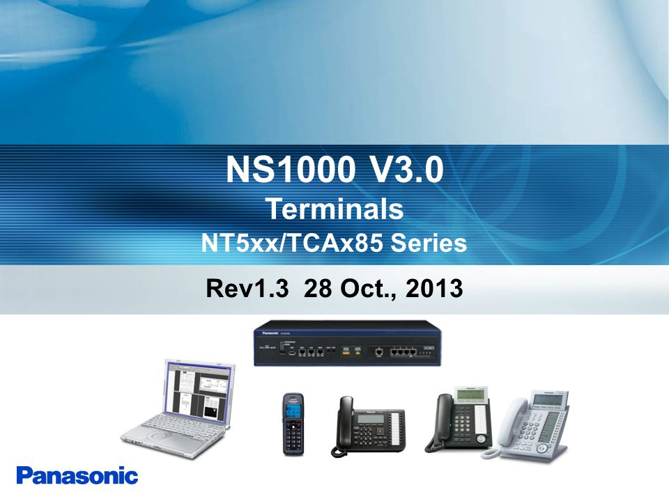 Terminals NT5xx/TCAx85 Series