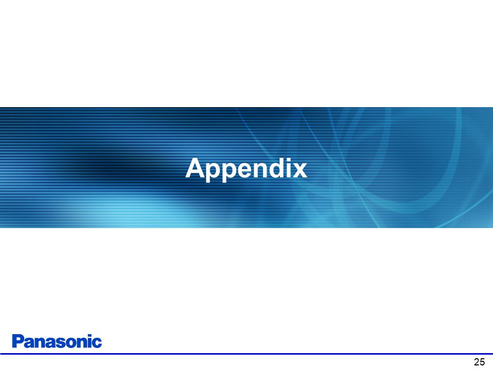 Appendix Chapter 1: Product Overview . 25