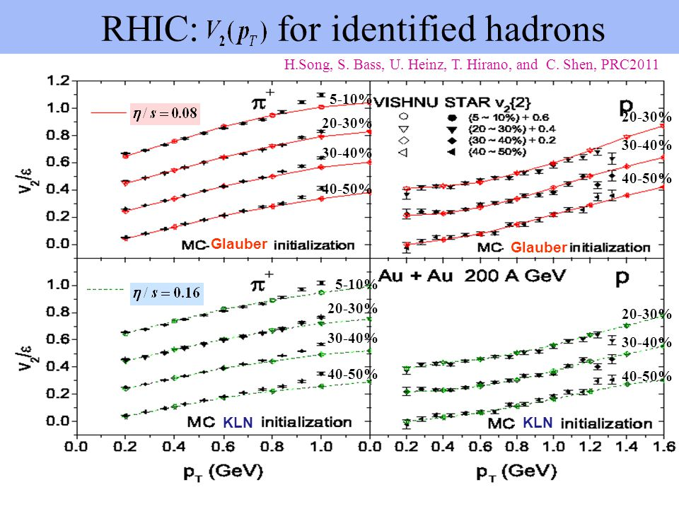 RHIC: for identified hadrons