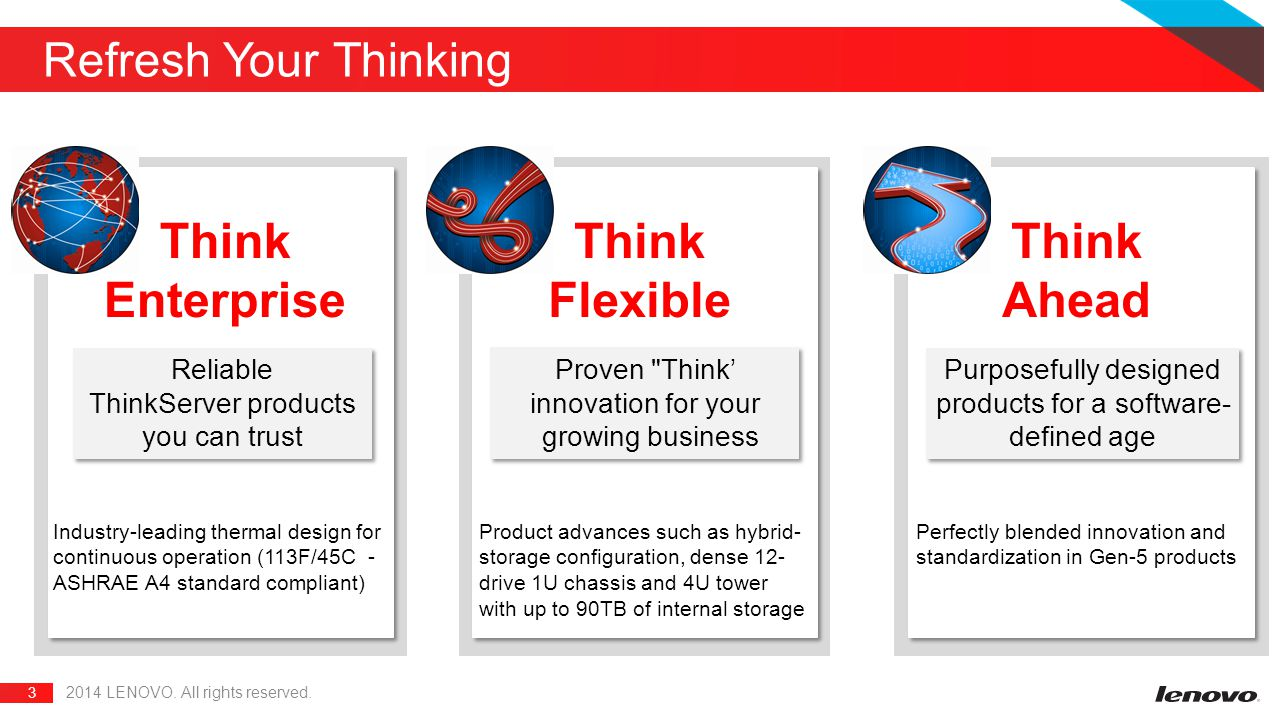 Think Enterprise Think Flexible Ahead