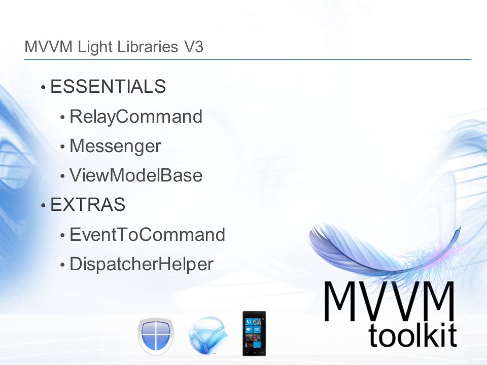 ESSENTIALS RelayCommand Messenger ViewModelBase EXTRAS EventToCommand