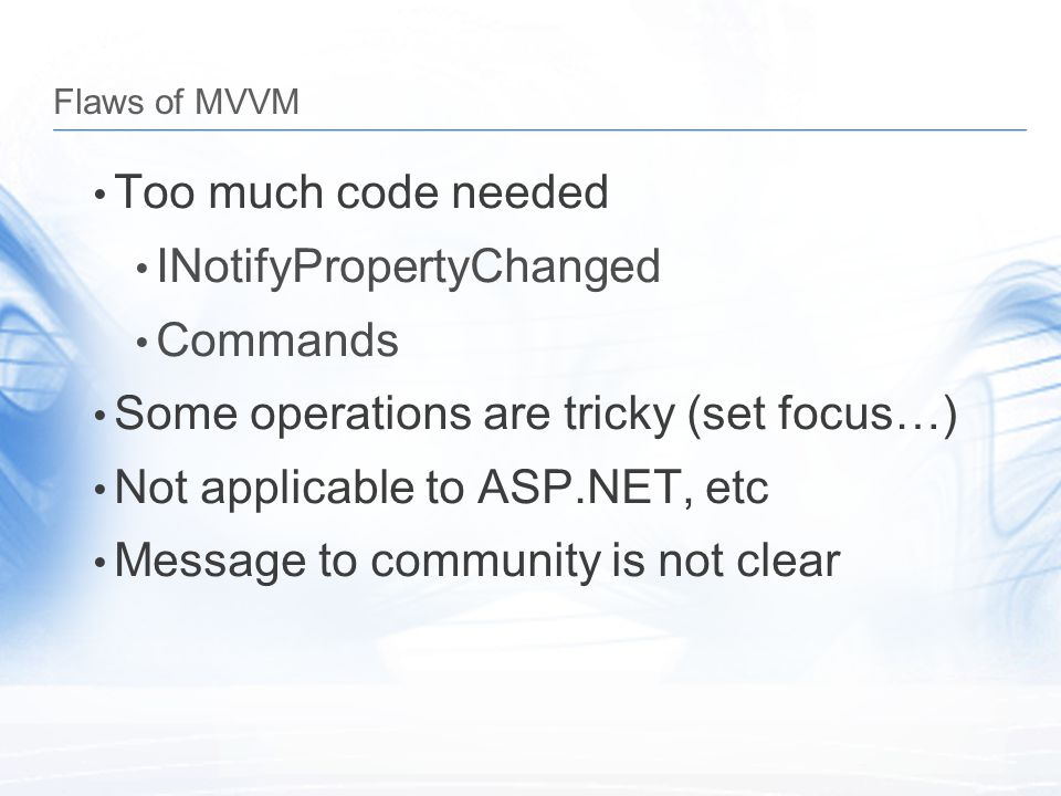INotifyPropertyChanged Commands