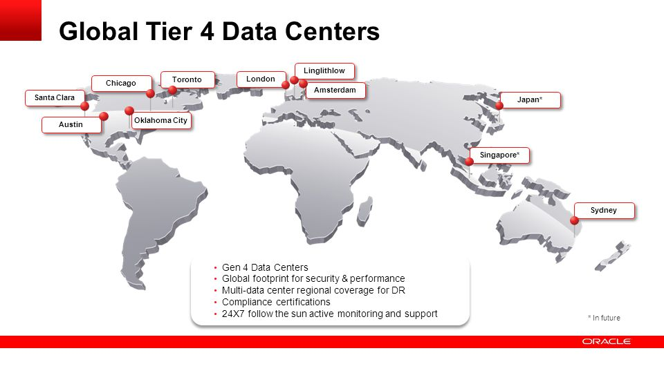 Global Tier 4 Data Centers