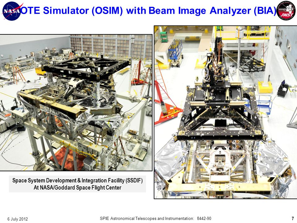 OTE Simulator (OSIM) with Beam Image Analyzer (BIA)