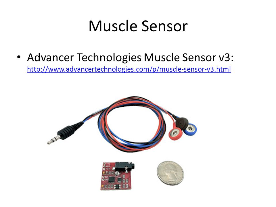 Muscle Sensor Advancer Technologies Muscle Sensor v3: