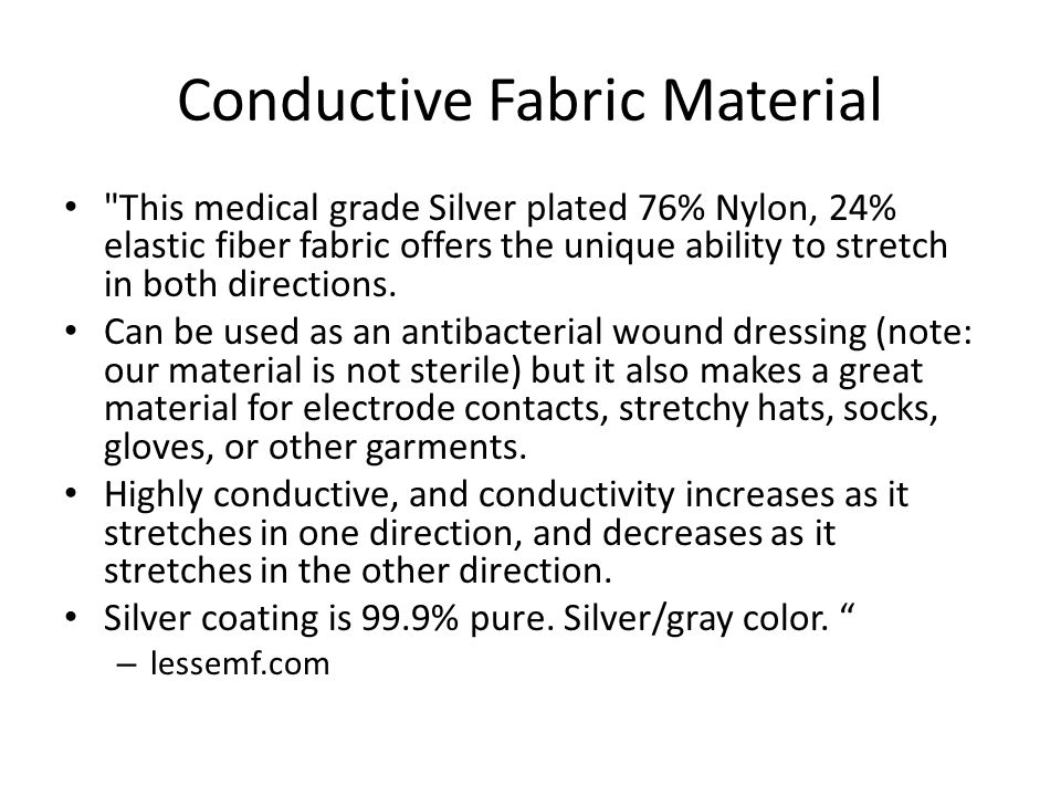 Conductive Fabric Material