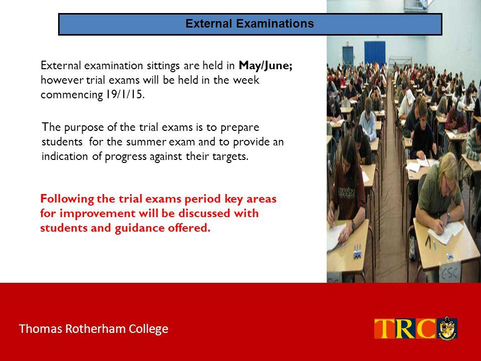 External Examinations