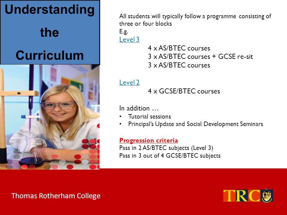 Understanding the Curriculum