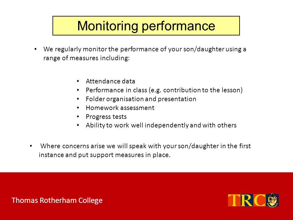 Monitoring performance