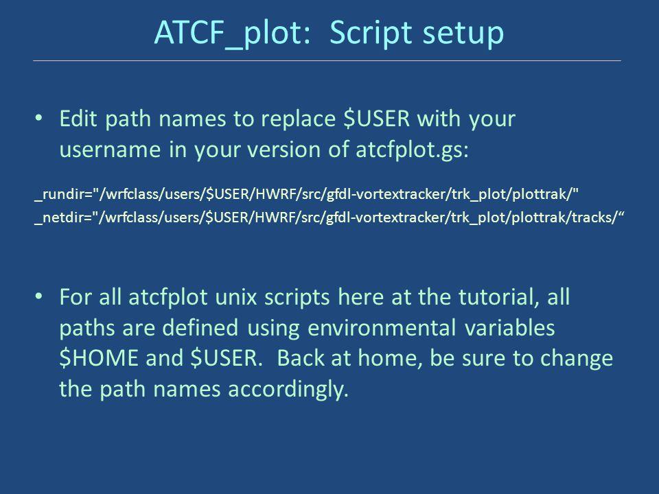 ATCF_plot: Script setup