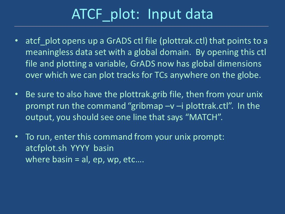 ATCF_plot: Input data