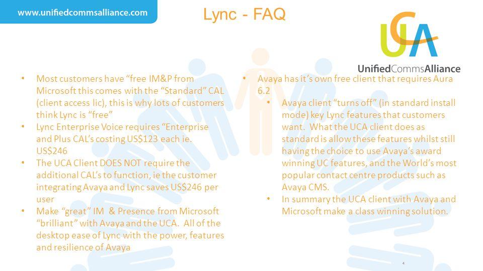 Lync - FAQ